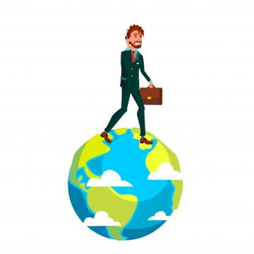 pngtree-businessman-with-suitcase-walking-on-top-of-earth-vector-flat-cartoon-png-image_1846682